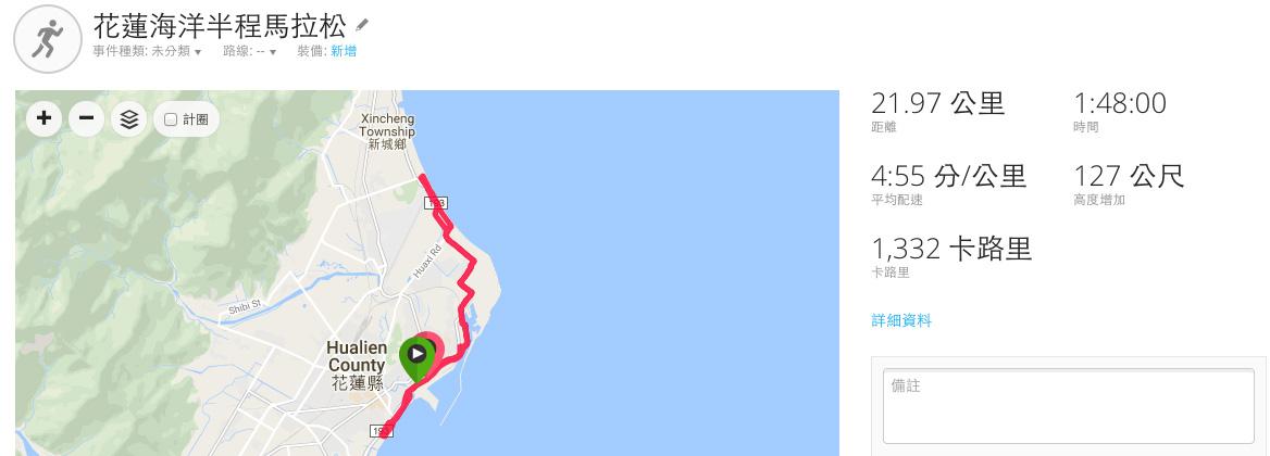 花蓮海洋半程馬拉松